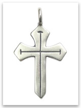 Sword of the Spirit Sterling Silver Pendant