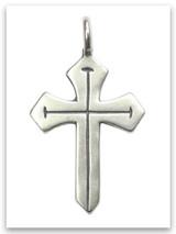 Sword of the Spirit Sterling Silver Pendant