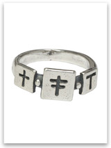Trio Cross Ring