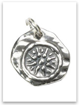 Sterling Silver Widow's Mite Charm