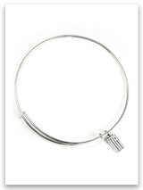 Sterling Silver Slider Bracelet for iTAG Charms