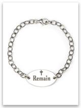 Remain Sterling Silver Bracelet
