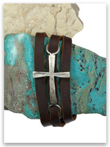 Power of God Leather Triple Wrap Bracelet