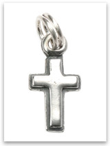 Latin Cross Sterling Silver Charm
