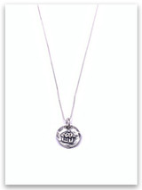 Cupcake Sterling Silver Necklace