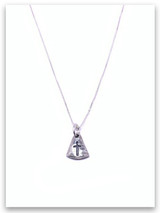 Daily Follow Me Sterling Silver Necklace