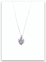 Mighty Warrior Sterling Silver Necklace