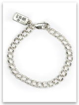 "7"" Sterling Silver Traditional Charm Bracelet"