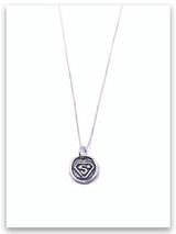 Superhero Sterling Silver Necklace