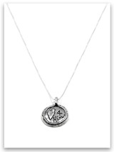 Heart 4 Him iTAG Sterling Silver Necklace