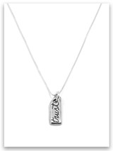 Trust iTAG Sterling Silver Necklace
