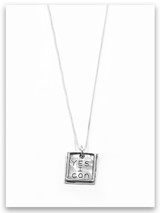 Yes I Can Charm Necklace