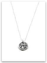 Yes, Love Deeply iTAG Sterling Silver Necklace