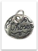 Chosen Sterling Silver iTAG Charm