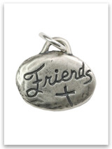 Friends Sterling Silver iTAG Charm