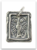 Protection Sterling Silver iTAG Charm