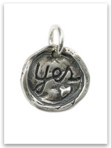 Yes Love Deeply Sterling Silver iTAG Charm