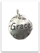 Touched by Grace Sterling Silver Charm