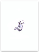 Sparrow Sterling Silver Charm
