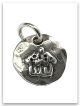 Cupcake Sterling Silver Charm