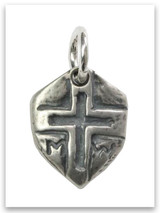 Mighty Warrior Sterling Silver Charm