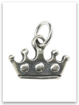 Queen Esther Sterling Silver Charm