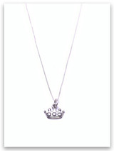 Queen Esther Sterling Silver Necklace