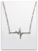 A New Heart-Heartbeat Necklace