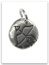 Fierce Sterling Silver Charm