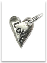 Love Sterling Silver Charm