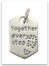 Every Step Sterling Silver Pendant