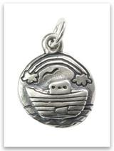 Noah's Ark Sterling Silver Charm