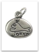 Jonah Sterling Silver Charm