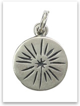 Sterling Silver Shine Charm