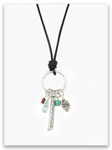 Blessed Leather Necklace
