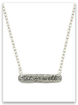 It Is Well With My Soul Necklace