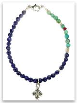 My Strength Lapis & Turquoise Bracelet