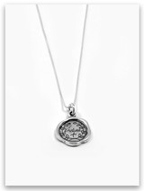 iTAG Sterling Silver Necklace Endure