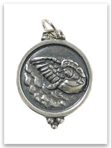 Sterling Silver Angel-Messenger Charm