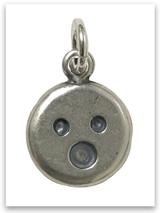 Fear Not Emoji Sterling Silver Charm