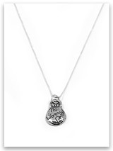 No Worry iTAG Sterling Grace Necklace
