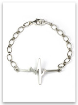 A New Heart Sterling Silver Bracelet