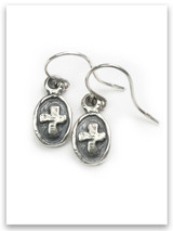 Kindness Cross Earrings