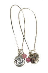 Pink Warrior HOPE Earrings