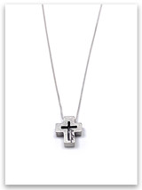 Just Be Cross Necklace