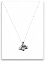 Bee Sterling Silver Charm Necklace