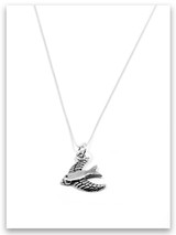 Valuable Sterling Silver Charm Necklace