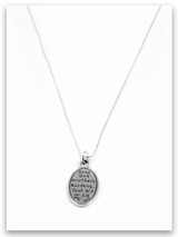 Sister Friends Sterling Silver Charm Necklace