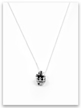 Crown Sterling Silver Charm Necklace