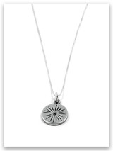 Shine Sterling Silver Charm Necklace